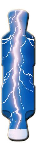 Lightning Bolt Perfecto 39 Skateboard Deck
