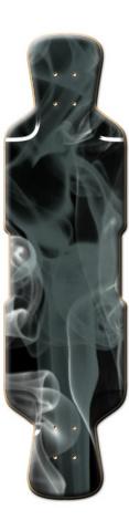 Black Smoke Perfecto 39 Skateboard Deck
