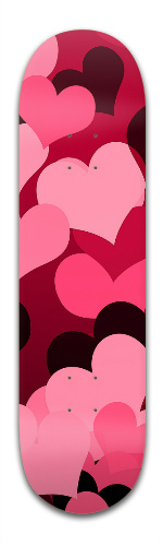 Hearts on Hearts Banger Park Skateboard 8.5 x 32 1/8