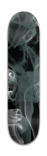Black Smoke Banger Park Skateboard 7 3/8 x 31 1/8