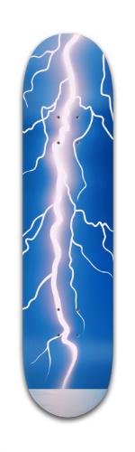 Lightning Bolt Banger Park Skateboard 7 3/8 x 31 1/8