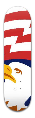 Bald Eagle Banger Park Skateboard 8.5 x 32 1/8