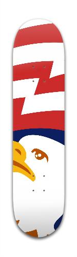 Bald Eagle Banger Park Skateboard 7 3/8 x 31 1/8