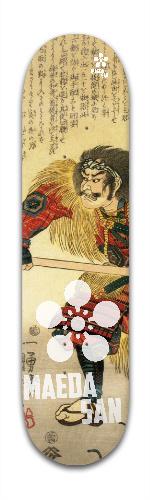 Maeda san - Samurai Collection *4 Banger Park Skateboard 7 7/8 x 31 5/8