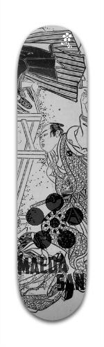 Samurai Limited Collection *3 Banger Park Skateboard 7 3/8 x 31 1/8