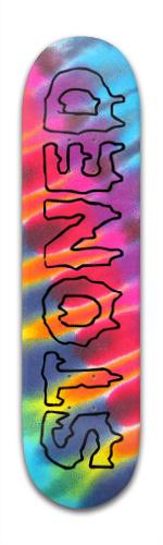 stoned Banger Park Skateboard 8 x 31 3/4