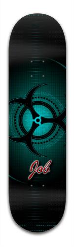 Bio Tech Banger Park Skateboard 8.5 x 32 1/8
