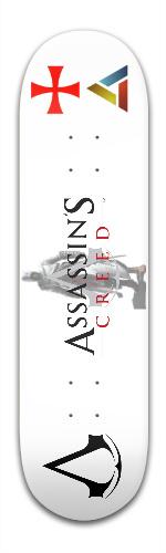 Assassin's Creed Custom Banger Park Skateboard 8.5 x 32 1/8
