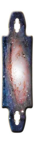 Deep In Space Gnarlier 38 Skateboard Deck
