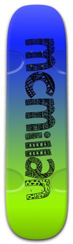 Street Skateboard 9.25 x 33.5