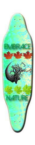 embrace nature Sloop Skateboard Deck