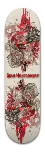 Samurai Sean Banger Park Skateboard 8.5 x 32 1/8
