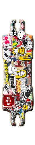 sticker board Carerra 2015