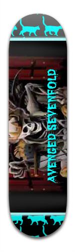 avenged catafold Banger Park Skateboard 8.5 x 32 1/8
