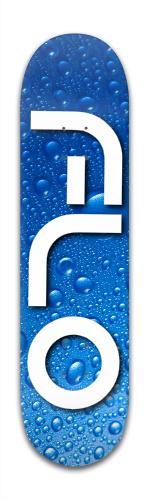 Flo Water Drops Banger Park Skateboard 8 x 31 3/4