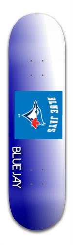 blue jay Banger Park Skateboard 8.5 x 32 1/8