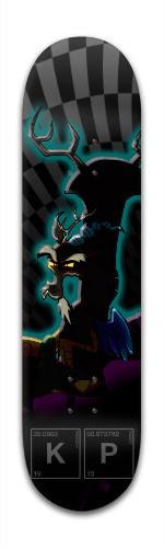 Dark Discord Banger Park Skateboard 8 x 31 3/4
