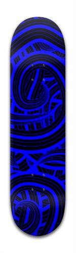 blue water Banger Park Skateboard 8 x 31 3/4