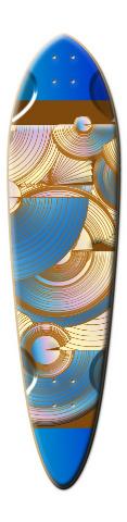 The Beach Dart Skateboard Deck
