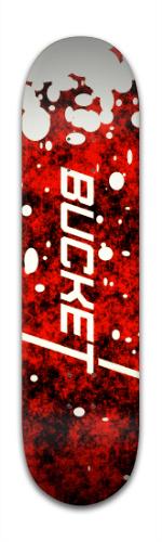 Bucket Board Banger Park Skateboard 8 x 31 3/4