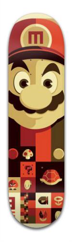 Mario Desing Complete Skateboards Banger Park Complete Skateboard 8.5 x 32  1 8 c706ea9323c