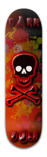 DarkWolf Banger Park Skateboard 8.5 x 32 1/8