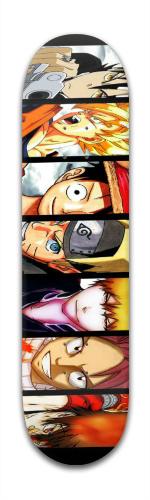 Anime Heroes Complete Skateboard Banger Park Complete Skateboard 7 7/8 x 31 5/8