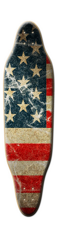Murica Sloop Skateboard Deck