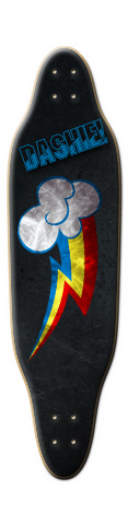 Dashie Sloop Skateboard Deck