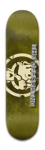 the offspring #2 Banger Park Skateboard 8 x 31 3/4