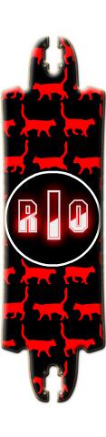 Rio FUBAR Drop Skateboard Deck