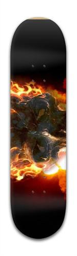 flaming blazer Banger Park Skateboard 8 x 31 3/4