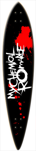 My Chemical Romance Dart Board Surf Dart