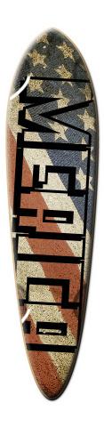 Merica Dart Skateboard Deck