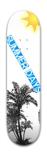 Summer Days Banger Park Skateboard 7 7/8 x 31 5/8