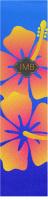 Hibiscus Ride Custom longboard griptape