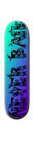 NEver BAiL Park Skateboard 8 1/4  x 32