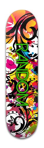 Random Park Skateboard 8 x 31 3/4