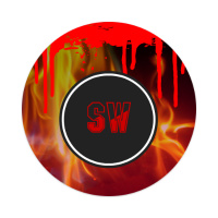 SW Fire Sticker 4 x 4 Circle