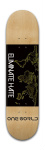 No Hate Park Skateboard 8 x 31 3/4