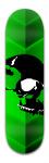 The Rolling Skull Park Complete Skateboard 8.5 x 32 1/8