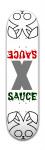 sauce debut Park Skateboard 7 7/8 x 31 5/8