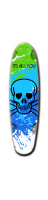 mp Custom Riviera Loose Grooves Skateboard 7 x 26