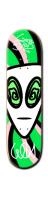 GEE-DAM Trip alien Park Skateboard 8 1/4  x 32