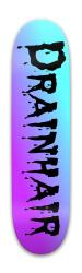 Drainhair the Demon Park Skateboard 7.88 x 31.495