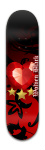 Wolf's Crystal Love Park Complete Skateboard 8 x 31 3/4