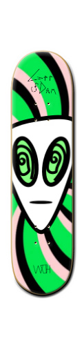 Trip Alien FAR OUT Banger Park Skateboard 8 1/4  x 32