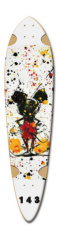 Carolina Dart Skateboard Deck v2