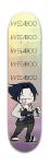 Weeaboo Sasuke Park Skateboard 7 3/8 x 31 1/8