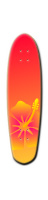 SUNSET FLOWER Custom Riviera Anatomy of a Skateboard 8 x 30